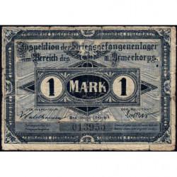 Allemagne - Camp de prisonniers - Guben - 1 mark - 01/10/1917 - Etat : TB
