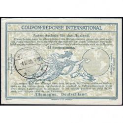 Coupon-réponse international - 35 reichspfennig - 04/12/1930 - Etat : SUP+