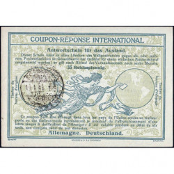 Coupon-réponse international - 35 reichspfennig - 13/01/1931 - Etat : SPL