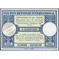 Offenbach - Coupon-réponse international - 35 reichspfennig - 23/12/1931 - Etat : SPL