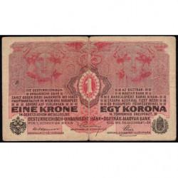 Autriche - Pick 20 -1 krone - 01/12/1916 - Etat : TB
