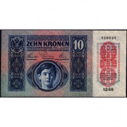 Autriche - Pick 51a_2 - 10 kronen - 1919 - Etat : pr.NEUF