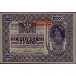 Autriche - Pick 66_1 - 10'000 kronen - 1919 - Etat : SPL