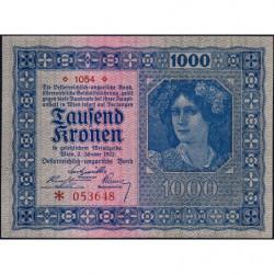 Autriche - Pick 78_1 - 1'000 kronen - 02/01/1922 - Etat : NEUF