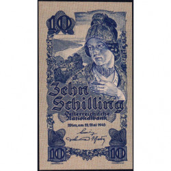 Autriche - Pick 114_2- 10 shilling - 29/05/1945 - Etat : NEUF