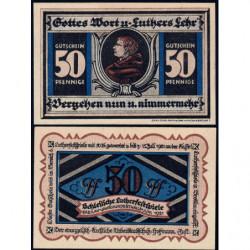 Pologne - Notgeld - Breslau (Wroclaw) - 50 pfennig - Lettre L - 06/1921 - Etat : NEUF