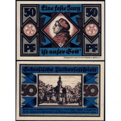 Pologne - Notgeld - Breslau (Wroclaw) - 50 pfennig - Lettre U - 06/1921 - Etat : NEUF