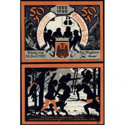 Pologne - Notgeld - Grünberg (Zielena Gora) - 50 pfennig - 1922 - Etat : NEUF