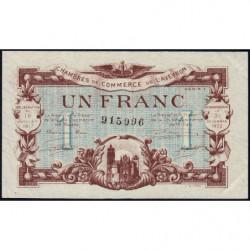 Rodez et Millau - Pirot 108-14 variété - Série 1 - 1 franc - 19/07/1917 - Etat : SUP+