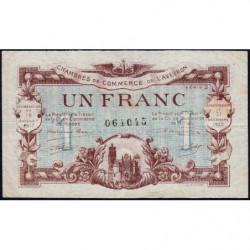 Rodez et Millau - Pirot 108-14a - Série 2 - 1 franc - 19/07/1917 - Etat : TTB
