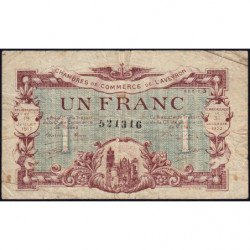 Rodez et Millau - Pirot 108-14b - Série 3 - 1 franc - 19/07/1917 - Etat : TB-
