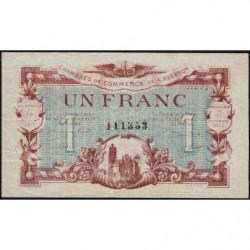 Rodez et Millau - Pirot 108-14 - Série 4 - 1 franc - 19/07/1917 - Etat : TTB