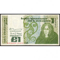 Irlande - Pick 70b - 1 pound - 19/11/1979 - Etat : B