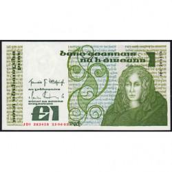 Irlande - Pick 70c - 1 pound - 11/06/1985 - Etat : pr.NEUF