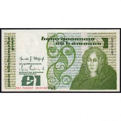 Irlande - Pick 70c - 1 pound - 28/04/1986 - Etat : SUP+