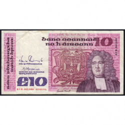 Irlande - Pick 72c - 10 pounds - 31/05/1991 - Etat : TB