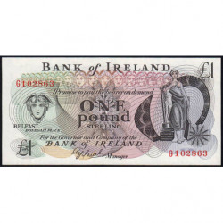 Irlande du Nord - Bank of Ireland - Pick 65 - 1 pound - 1980 - Etat : NEUF