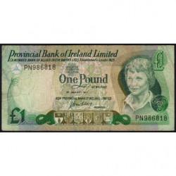Irlande du Nord - Provincial Bank - Pick 247a - 1 pound - 01/01/1977 - Etat : TB