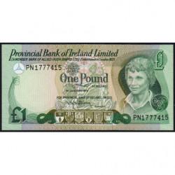 Irlande du Nord - Provincial Bank - Pick 247b - 1 pound - 01/01/1979 - Etat : NEUF