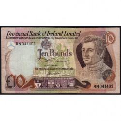 Irlande du Nord - Provincial Bank - Pick 249a - 10 pounds - 01/01/1977 - Etat : TB