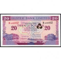 Irlande du Nord - Ulster Bank - Pick 337a - 20 pounds - 01/01/1996 - Etat : NEUF