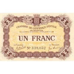 Epinal - Pirot 56-5 - 1 franc - 1920 - Etat : SUP+