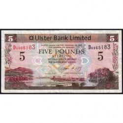 Irlande du Nord - Ulster Bank - Pick 340a - 10 pounds - 01/07/2007 - Etat : TB-