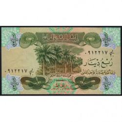 Irak - Pick 67 - 1/4 dinar - 1979 - Etat : SUP