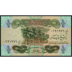 Irak - Pick 67 - 1/4 dinar - 1979 - Etat : NEUF
