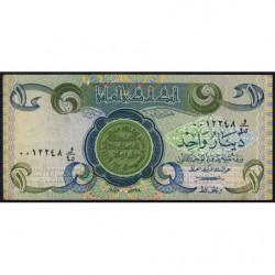 Irak - Pick 69_1 - 1 dinar - 1979 - Etat : TB