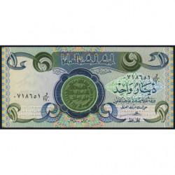 Irak - Pick 69_2 - 1 dinar - 1980 - Etat : NEUF
