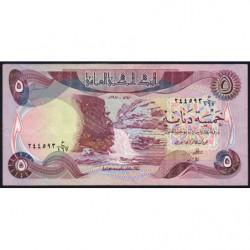 Irak - Pick 70_1 - 5 dinars - 1980 - Etat : TTB