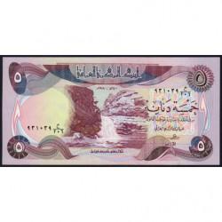 Irak - Pick 70_1 - 5 dinars - 1980 - Etat : NEUF