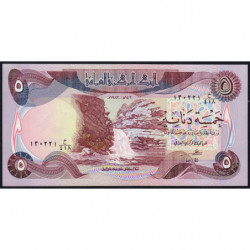 Irak - Pick 70_3 - 5 dinars - 1982 - Etat : NEUF