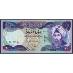 Irak - Pick 71_1 - 10 dinars - 1980 - Etat : NEUF