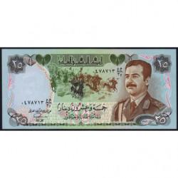 Irak - Pick 73 - 25 dinars - 1986 - Etat : NEUF