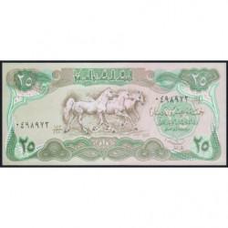 Irak - Pick 74c - 25 dinars - 1990 - Etat : NEUF