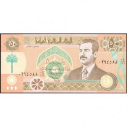 Irak - Pick 75_1 - 50 dinars - 1991 - Etat : NEUF