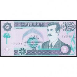 Irak - Pick 76_2 - 100 dinars - 1991 - Etat : NEUF