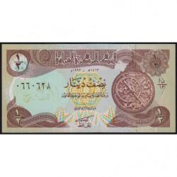 Irak - Pick 78_1 - 1/2 dinar - 1993 - Etat : NEUF
