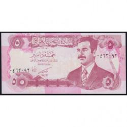 Irak - Pick 80c - 5 dinars - 1992 - Etat : NEUF