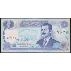 Irak - Pick 84a_2 - 100 dinars - 1994 - Etat : NEUF