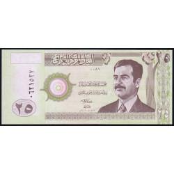 Irak - Pick 86 - 25 dinars - 2001 - Etat : NEUF