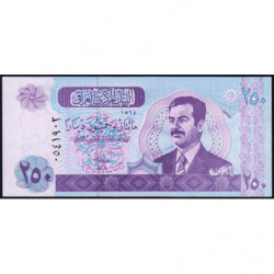 Irak - Pick 88 - 250 dinars - 2002 - Etat : NEUF