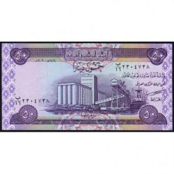 Irak - Pick 90 - 50 dinars - 2003 - Etat : NEUF