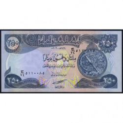 Irak - Pick 91a - 250 dinars - 2003 - Etat : NEUF