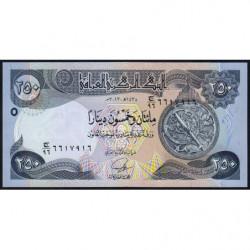 Irak - Pick 97a - 250 dinars - 2013 - Etat : NEUF