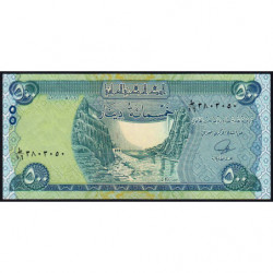 Irak - Pick 98 - 500 dinars - 2013 - Etat : NEUF