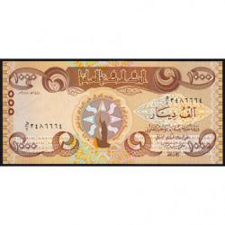 Irak - Pick 106 - 1'000 dinars - 2018 - Etat : NEUF