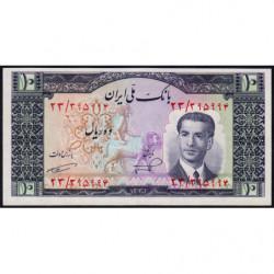 Iran - Pick 59 - 10 rials - 1953 - Etat : NEUF